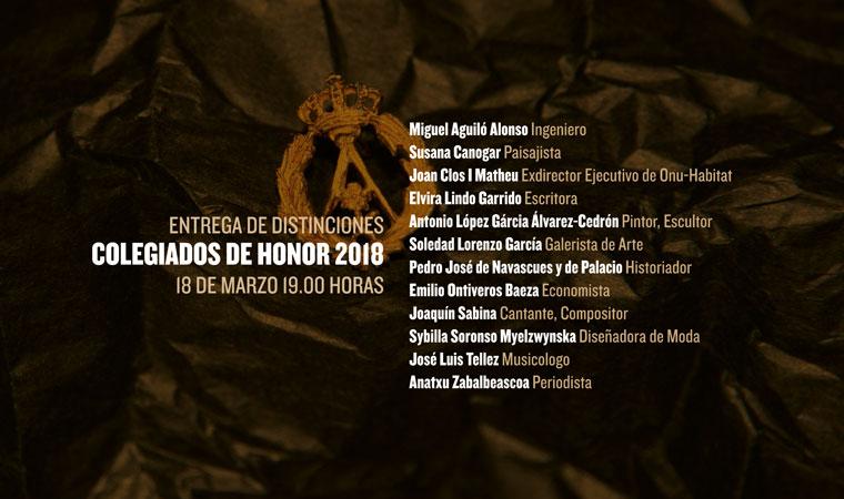 El COAM nombra «Colegiada de Honor» a la Paisajista Susana Canogar