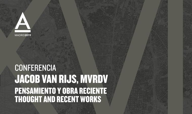 Conferencia de Jacob van Rijs socio fundador de MVRDV