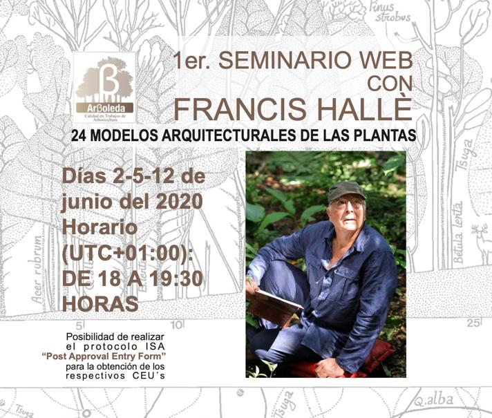 Seminario Web con Francis Hallé