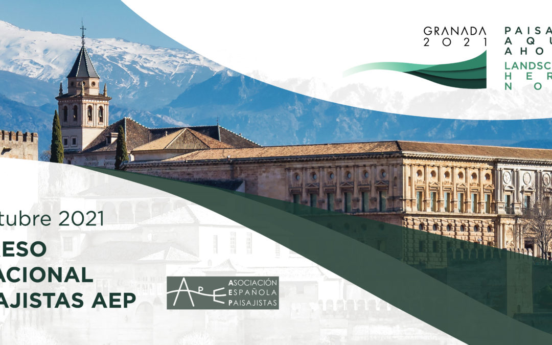 Ponentes I Congreso Internacional de Paisajistas AEP